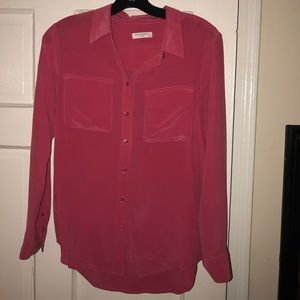 Adorable pink blouse from equipment